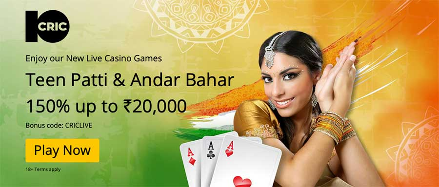 Teen Patti and Andar Bahar Live games